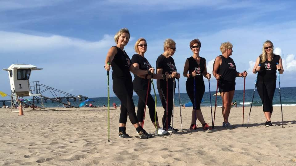 Nordic Power Walking : My Personal Way to Stay in Shape on CBS News Miami